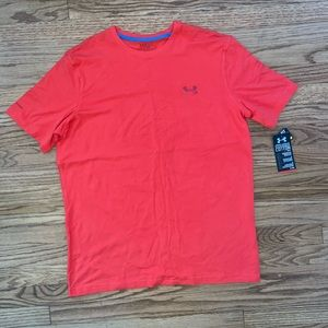NWT men's under armour orange t shirt